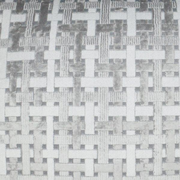 Trellis Velvet-Grey