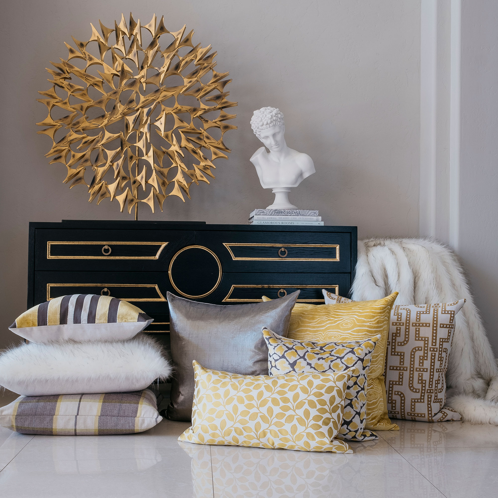 D.V. Kap Home: Luxury Throws & Accent Pillows