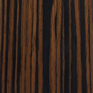 Finish: Laminate - Dark Zebra