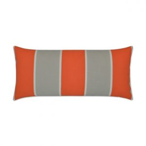 Cabana Stripe Lumbar-Orange