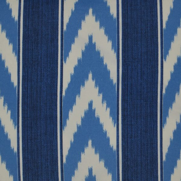 IKAT Stripe Lumbar-Blue