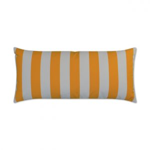 Cafe Stripe Lumbar-Yellow