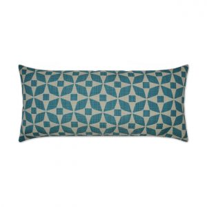 Marquee Lumbar-Turquoise