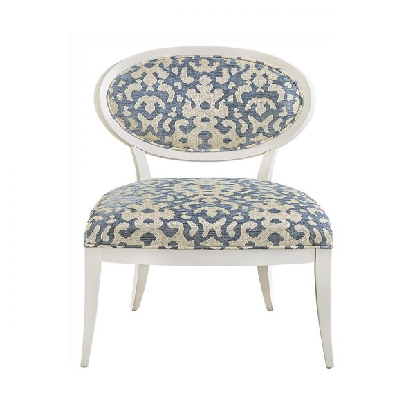 (U-212) Olivia Chair | Fabric: (2714) Foppa | Finish: Wood - Alabaster