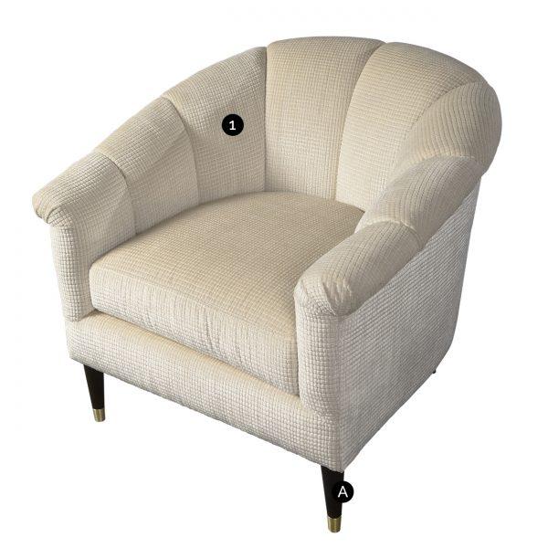 (U-227) Cyrus Chair (Chart)