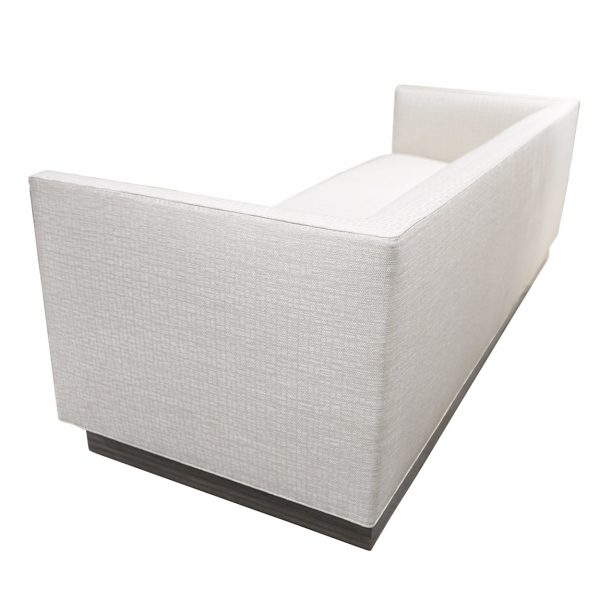 (U-240) Agape Sofa | Fabric: (3195-P) Dupont – Pearl | Finish: Wood – London Wood