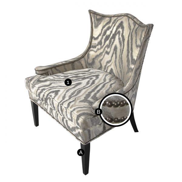(U-228) Grace Chair (Chart)