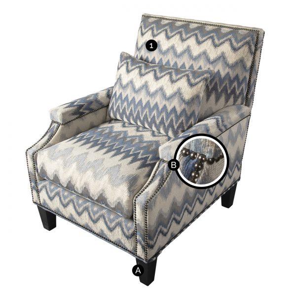 (U-229) Micah Chair (Chart)
